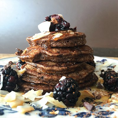 Warming Winter Protein Pancakes